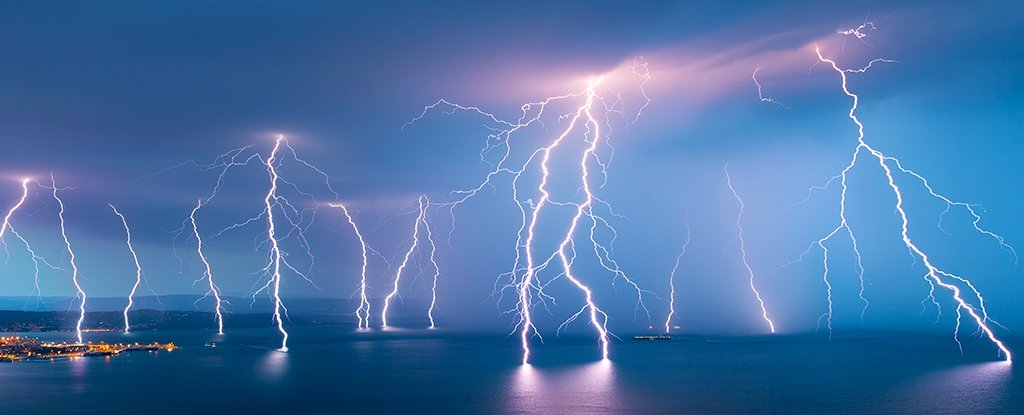 lightning current