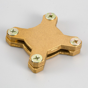 Heavy Duty Copper Square Tape Clamp-STC